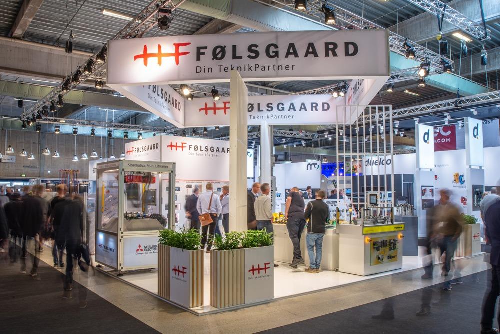 Følsgaard stand til HI messen i 2019