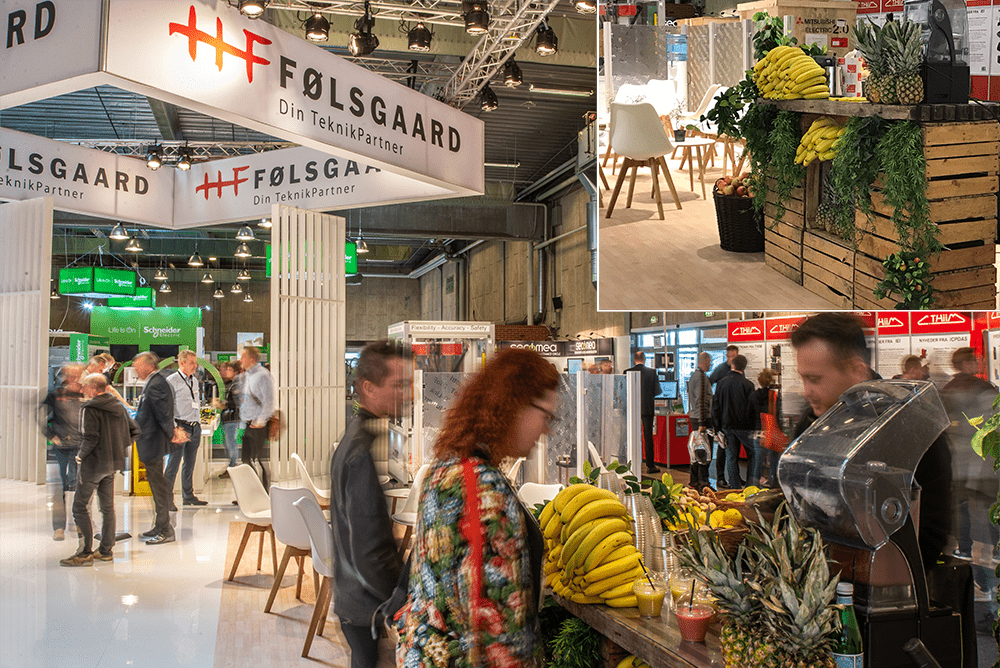Følsgaard messestand til HI messen 2019