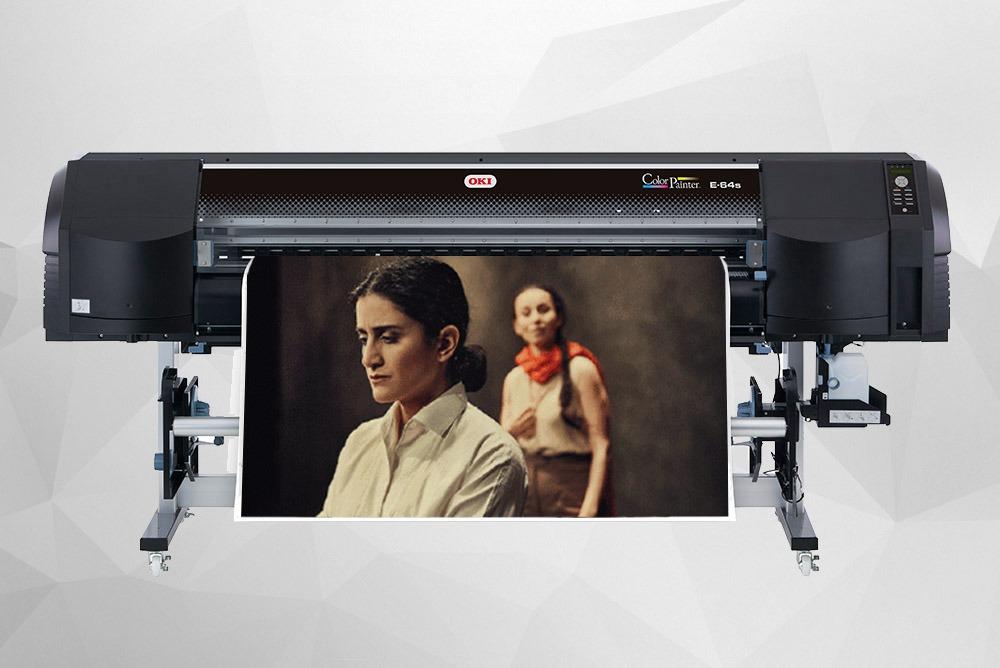 Storformat print, der er printet via vores Inhouse printer visende en forestilling i Odeon af Odense Teater